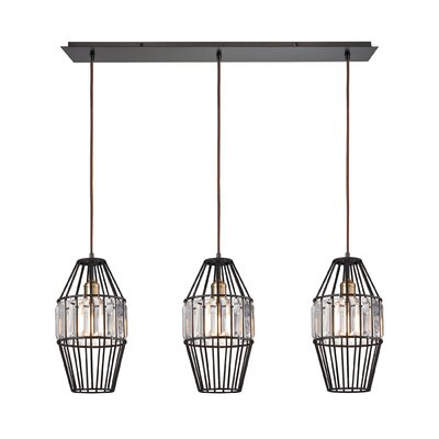 Dalhem 3-Light Kitchen Island Pendant