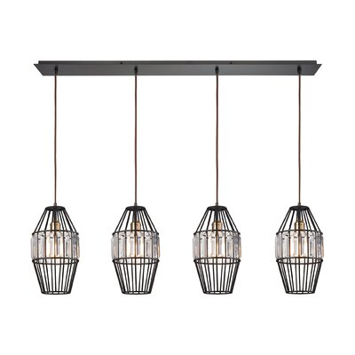 Dalhem 4-Light Kitchen Island Pendant