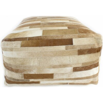 Cadencia Pouf Ottoman Upholstery: Camel