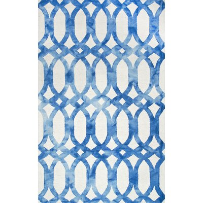 Sheerness Blue Area Rug Rug Size: 5 x 8