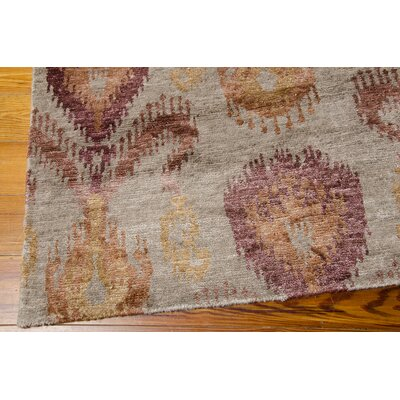 Bay Taupe Area Rug Rug Size: Rectangle 99 x 139