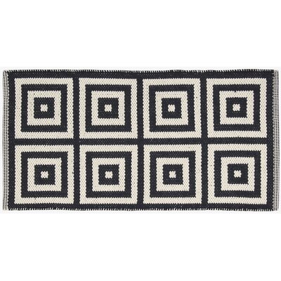 Paltrow Black/Cream Area Rug