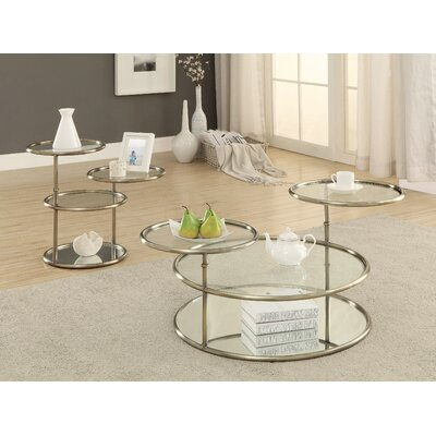 Blandain 2 Piece Coffee Table Set