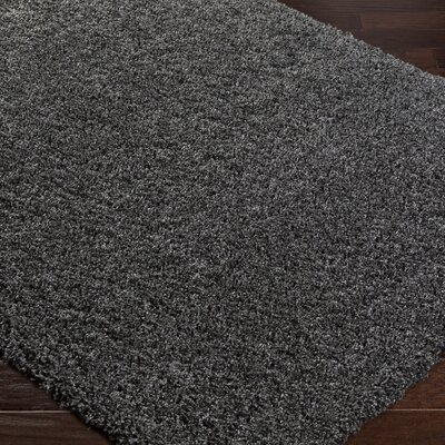 Roberto Solid Gray Area Rug Rug Size: Rectangle 710 x 103