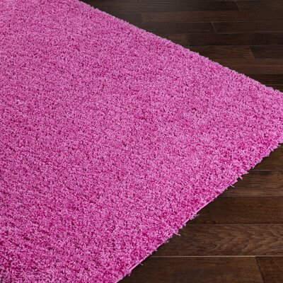 Roberto Pink Area Rug Rug Size: Rectangle 53 x 73