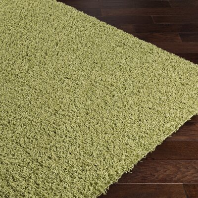 Roberto Green Area Rug Rug Size: Rectangle 2 x 3