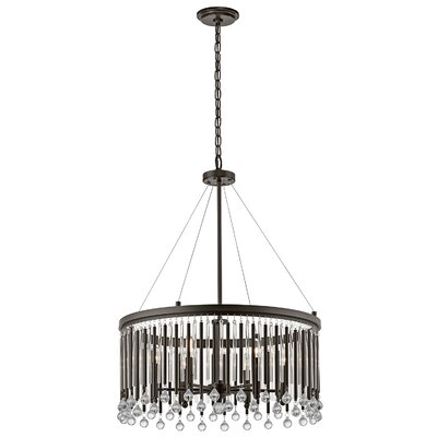 Calumet 6-Light Crystal Chandelier