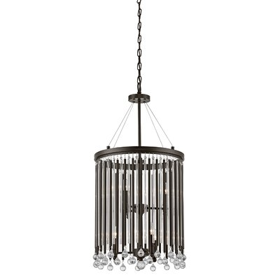 Peterlee 6-Light Crystal Chandelier