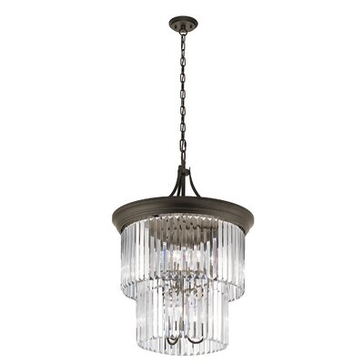 Worcester 9-Light Crystal Chandelier