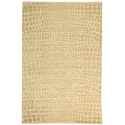 Amazonia Hand-Tufted Meerkat/Brown Area Rug Rug Size: 56 x 86