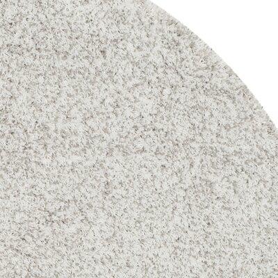 Zanderhoven White/Light Gray Area Rug Rug Size: 86 x 12