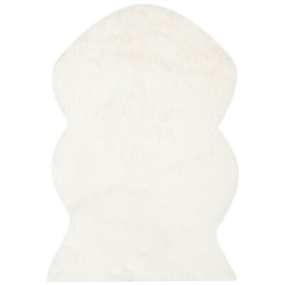 Zelem Hand-Tufted Ivory Area Rug