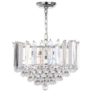Birchley 2-Light Crystal Pendant