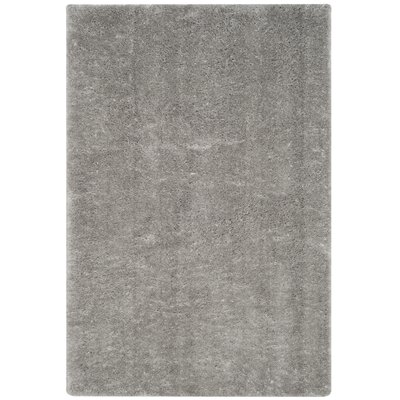Zirconia Gray Area Rug Rug Size: Rectangle 67 x 92