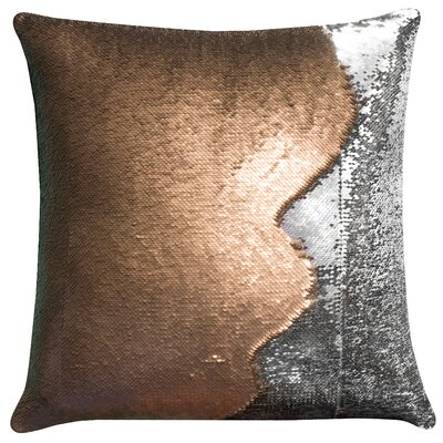 Arno 2-Tone Sequin Throw pillow