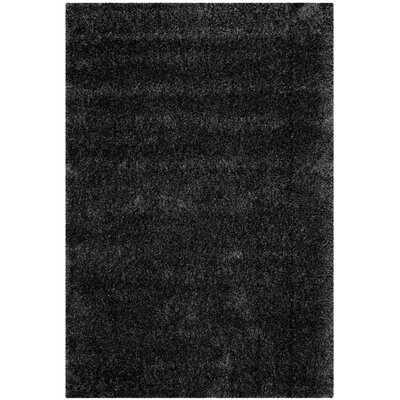 Soraya Black Area Rug Rug Size: Rectangle 4 x 6