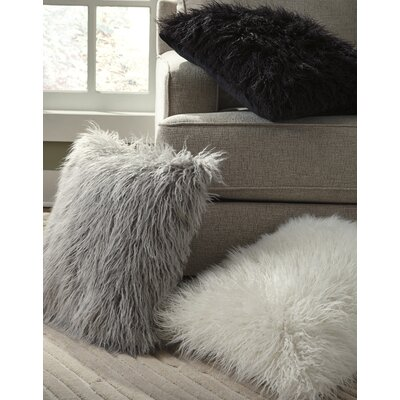 Bosch Throw Pillow Color: Gray