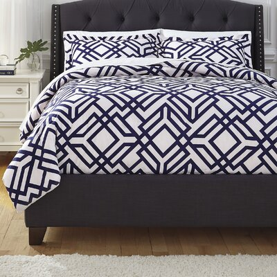Botkin 3 Piece Comforter Set Size: King