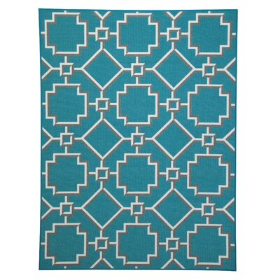 Southend Turquoise Area Rug