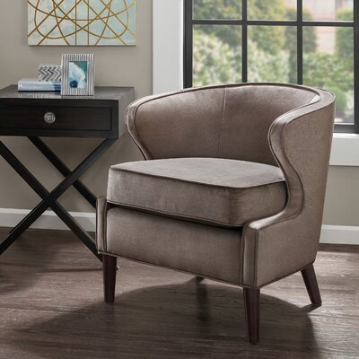 Butler Barrel Chair Color: Mushroom