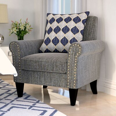 Gruber Armchair Upholstery: Gray