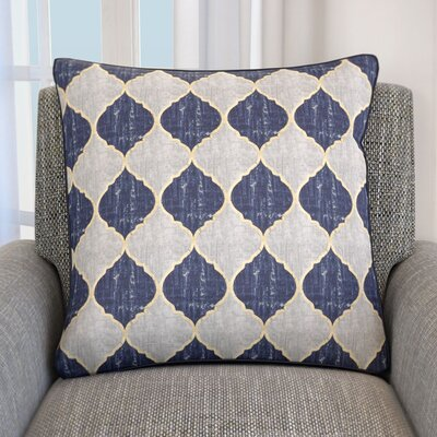 Hornblow Cotton Throw Pillow
