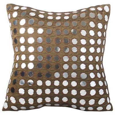 Cramlington Luxury Silk Throw Pillow Size: 10 H x 10 W x 4 D