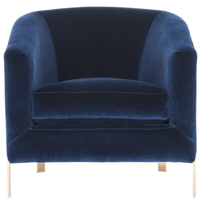 Reynaldo Barrel Chair Upholstery: Giotto Navy