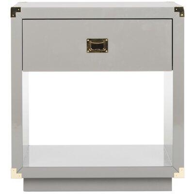 Jove End Table Color: Dark Gray