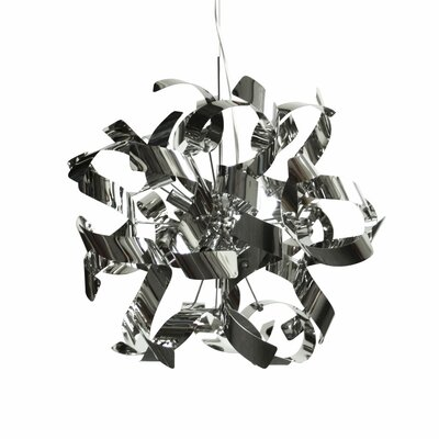 Fosteau 7-Light Pendant Finish: Polished Chrome