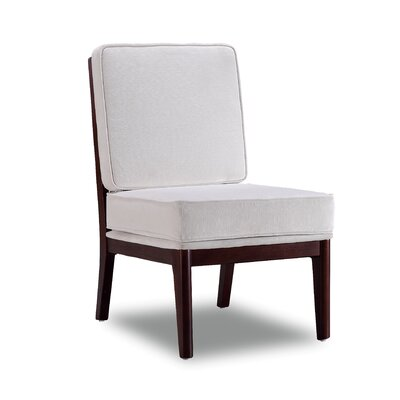 Covelle Slipper Chair Upholstery: Antique White