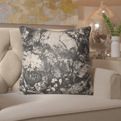 Hough Throw Pillow Size: 18 H x 18 W x 4 D, Color: Black