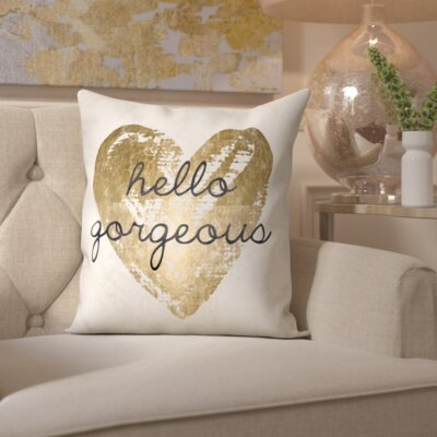 Ramsel Gorgeous Salute White Throw Pillow