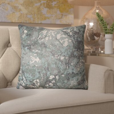 Hough Throw Pillow Size: 18 H x 18 W x 4 D, Color: Teal