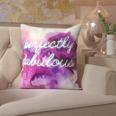 Princes Risborough White; Purple Throw Pillow