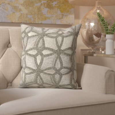 Gilbert Natural Hide Throw Pillow