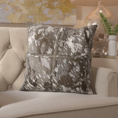 Zimbalist Natural Hide Throw Pillow