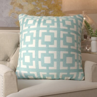 Gibbens 100% Cotton Throw Pillow Size: 18 H x 18 W