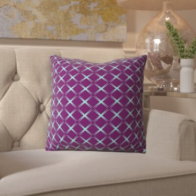 Belle Astral Bohemian Outdoor Throw Pillow Size: 18