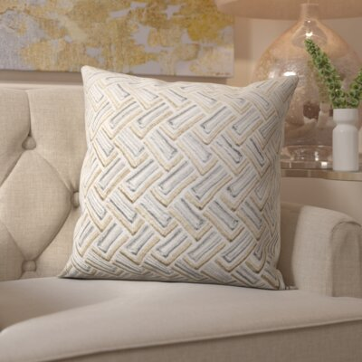 Laine Metallic Throw Pillow