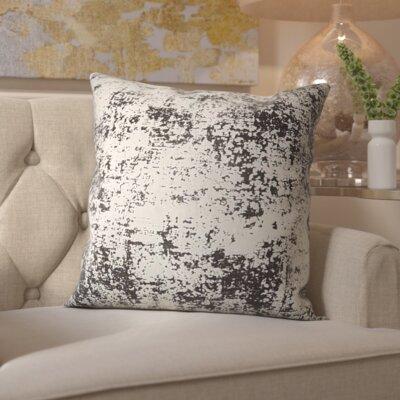 Chiron Velvet Throw Pillow Color: Black