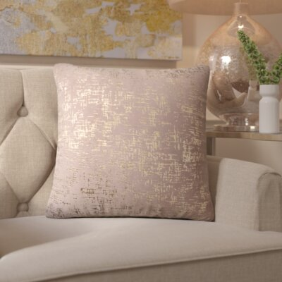 C�lia Throw Pillow Color: Cream