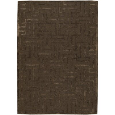 Havant Brown/Tan Area Rug Rug Size: 79 x 106