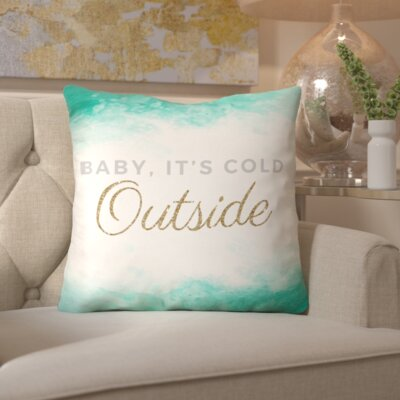 Its So Cold Throw Pillow