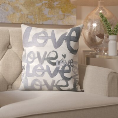 Pudsey Four Letter Word Throw Pillow