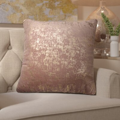 Manderfeld Cotton Velvet Throw Pillow