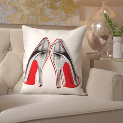 Pyrite Fire In Your New Shoes Throw Pillow