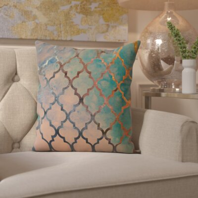 Pyrite Amour Arabesque Throw Pillow
