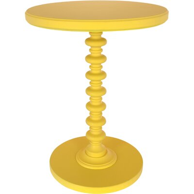 Adames End Table Finish: Yellow