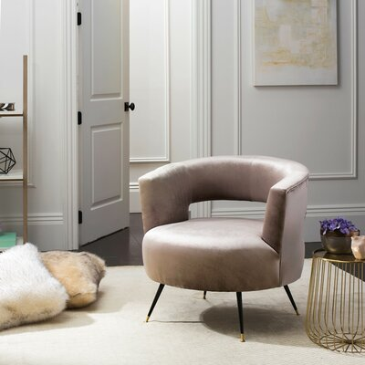 Nila Barrel Chair Upholstery: Hazelwood